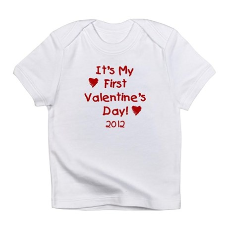 It's My First Valentine's Day Infant T-Shirt