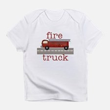 Fire Truck Creeper Infant T-Shirt