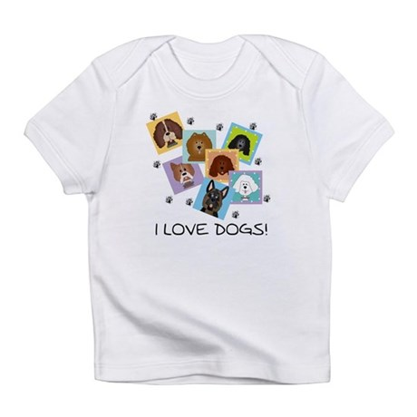 I Love Dogs Infant T-Shirt