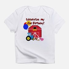 Farm 2nd Birthday Creeper Infant T-Shirt