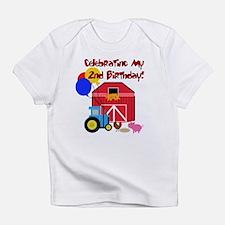 Farm 2nd Birthday Creeper Infant T-Shirt