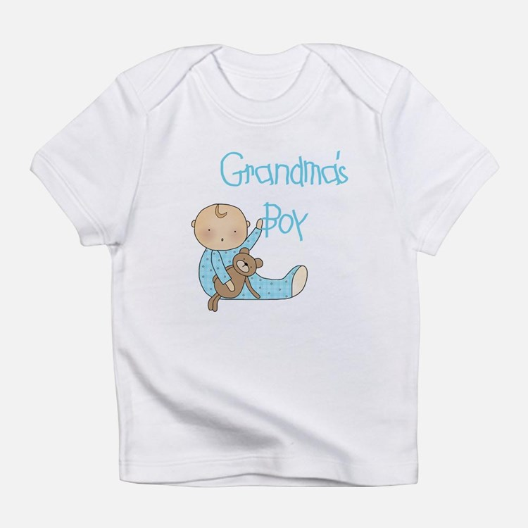 Grandma's Boy Infant T-Shirt