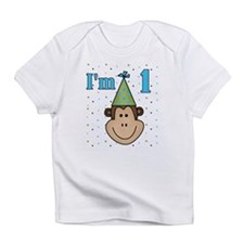 Monkey 1st Birthday Infant T-Shirt