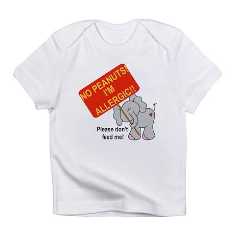 No Peanuts Elephant Infant T-Shirt