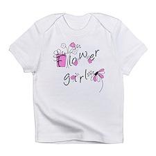 Flowers Flower Girl Infant T-Shirt