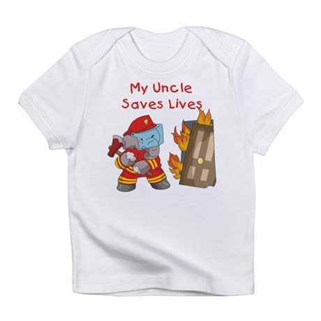Firefighter Uncle Infant T-Shirt