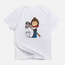Giddy Up Cowboy Infant T-Shirt