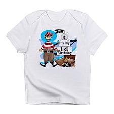 Pirate's Life 1st Birthday Infant T-Shirt