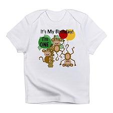 Monkey 1st Birthday Infant T-Shirt