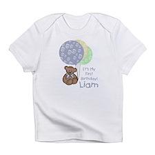 "Bear 1st Birthday ""Liam"" Infant T-Shirt"