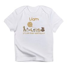 """Liam"" My First Birthday Infant T-Shirt"