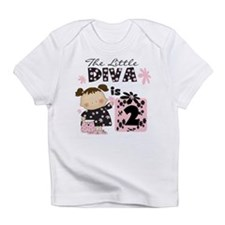 Diva 2nd Birthday Infant T-Shirt
