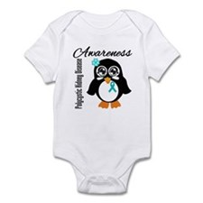 Penguin PKD Awareness Infant Bodysuit