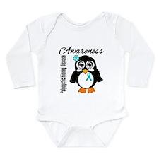 Penguin PKD Awareness Long Sleeve Infant Bodysuit