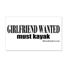 Girlfriend Wanted: Must Kayak 20x12 Wall Peel
