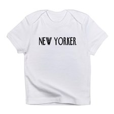 New Yorker in Pink, White, or Blue Infant T-Shirt