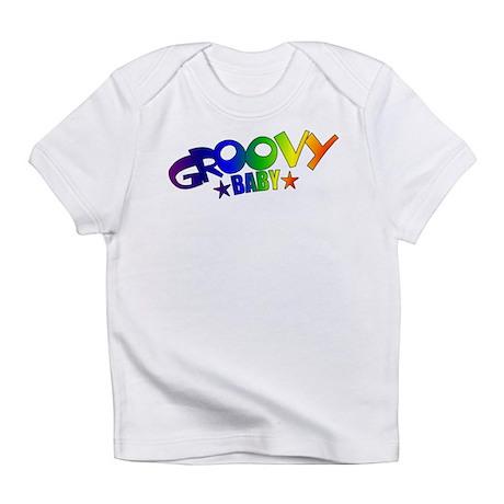 Groovy Baby Retro Creeper Infant T-Shirt