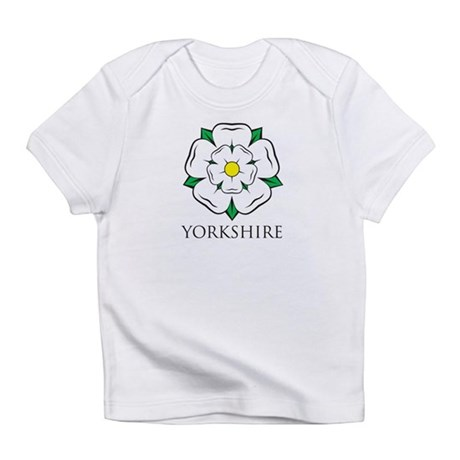 Yorkshire Rose baby thingy Infant T-Shirt