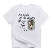 Our Lady of the Rosary (2) Creeper Infant T-Shirt