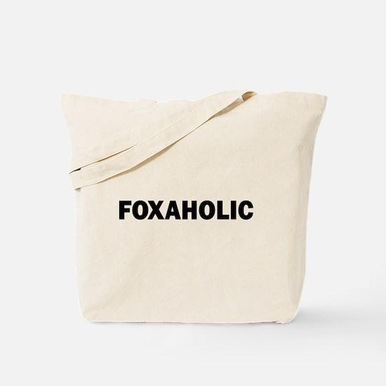 Fox aholic v2 Tote Bag