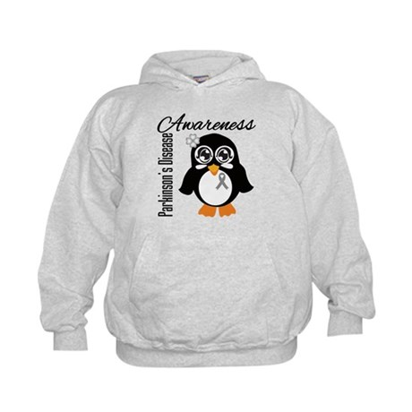 Penguin Parkinsons Disease Kids Hoodie