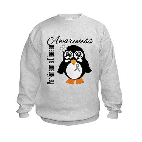 Penguin Parkinsons Disease Kids Sweatshirt