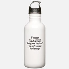 TEXTING WORKOUT Water Bottle