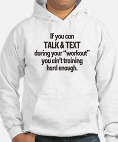 TEXTING WORKOUT Hoodie