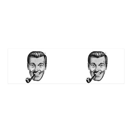 SubGenius Magic 2-for-1 DOBBSHEAD STICKERS!