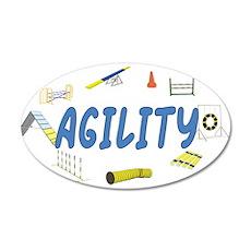 Agility 20x12 Oval Wall Peel