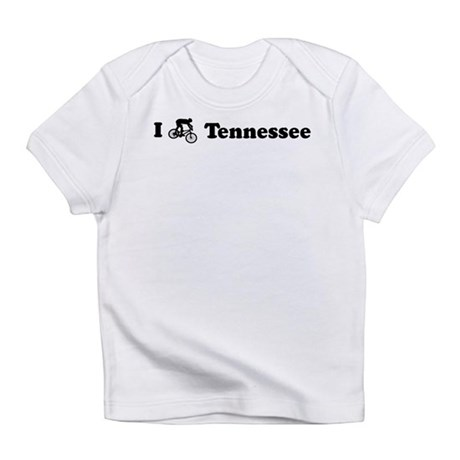 Mountain Bike Tennessee Creeper Infant T-Shirt