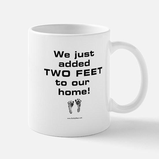 Two Feet... Mug