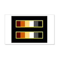 Equality Bear Black 20x12 Wall Peel