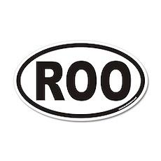 ROO Euro 20x12 Oval Wall Peel