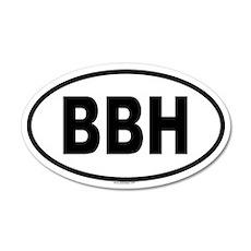 BBH 20x12 Oval Wall Peel