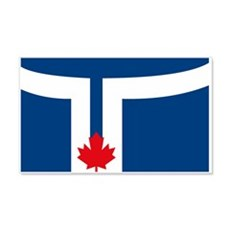 Toronto Flag 20x12 Wall Peel