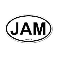 Jamaica 35x21 Oval Wall Peel