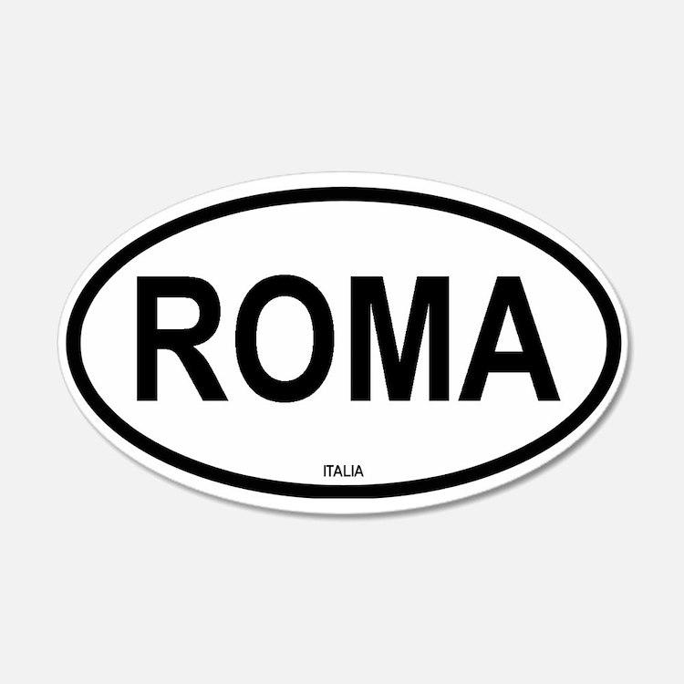 Roma 20x12 Oval Wall Peel