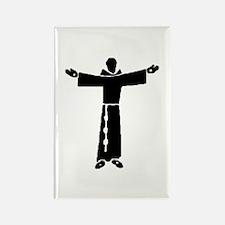 Cute Saint francis Rectangle Magnet (10 pack)