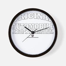 Car Automobile Wall Clock