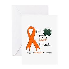Support Leukemai Awareness Greeting Card