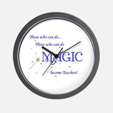 Do Magic Too Wall Clock
