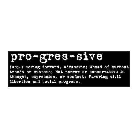 Progressive Definition Bumper Art