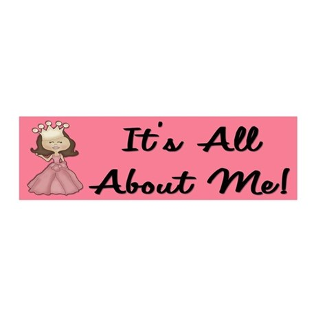Its all About Me 20x6 Wall Peel