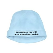Perl Replace baby hat