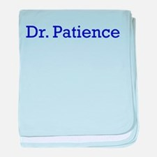 Dr. Patience baby blanket