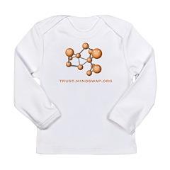 Social Network Long Sleeve Infant T-Shirt