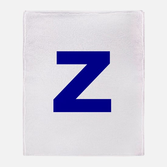 Z Throw Blanket