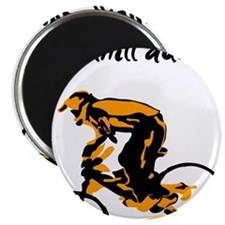 "Mountain biking 2.25"" Magnet (10 pack)"