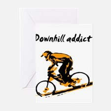 Cool Mountain bike Greeting Cards (Pk of 10)